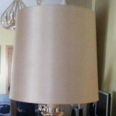 Antigüedades: LAMPARA DE SOBREMESA DE 90 CM ALTO DE LOS AÑOS 70/80. Lote 42698456