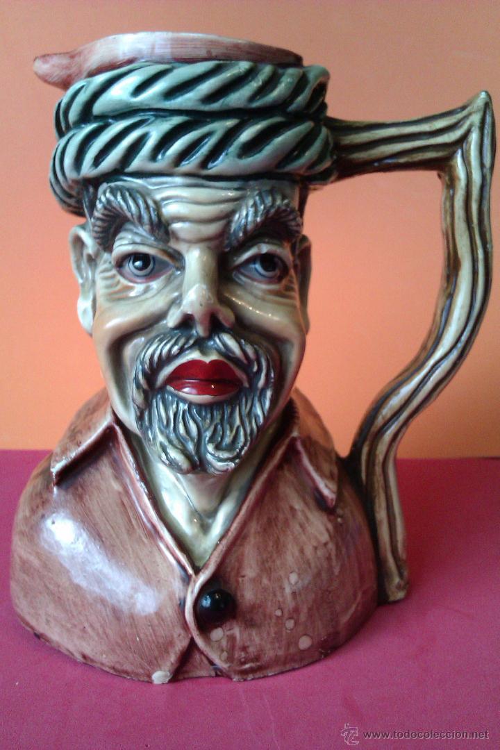 Antigua jarra de porcelana inglesa con forma de comprar - Porcelana inglesa antigua ...