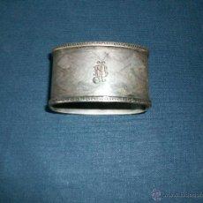 Antigüedades: SERVILLETERO DE PLATA SIN CONTRASTES -. Lote 42725880