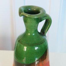 Antigüedades: JARRON FLORERO ESMALTADO SELLO TITO UBEDA. Lote 42751085