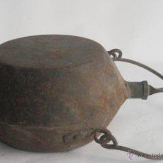 Antigüedades: CANTIMPLORA DE HIERRO. Lote 42753733