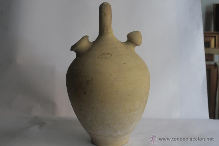 BÚCARO DE BARRO, SELLADO JUAN LOPEZ. LEBRIJA. SEVILLA (Antigüedades - Porcelanas y Cerámicas - Otras)