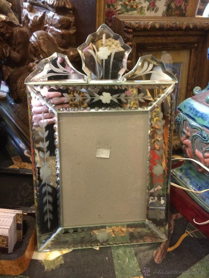 marco en cristal veneciano - Comprar Marcos Antiguos de Cuadros en ...
