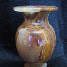 Antigüedades: PRECIOSA COPA DE ÓNICE DE MÁRMOL U ÓNIX CALCÁREO. Lote 95377796