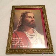 Antigüedades: CUADRO DEL SAGRADO CORAZON DE JESUS. Lote 42783340