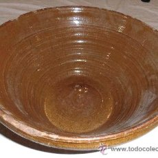 Antigüedades - BARREÑO DE BARRO PARA MATANZA DEL CERDO - 34662113