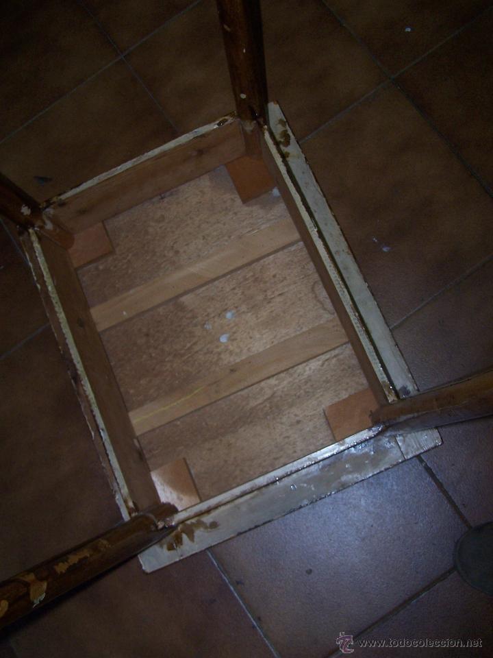 Antigüedades: Curiosa, sencilla y bonita mesa antigua para restaurar o dejar tal cual. - Foto 18 - 42807388