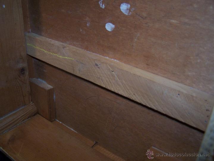 Antigüedades: Curiosa, sencilla y bonita mesa antigua para restaurar o dejar tal cual. - Foto 21 - 42807388