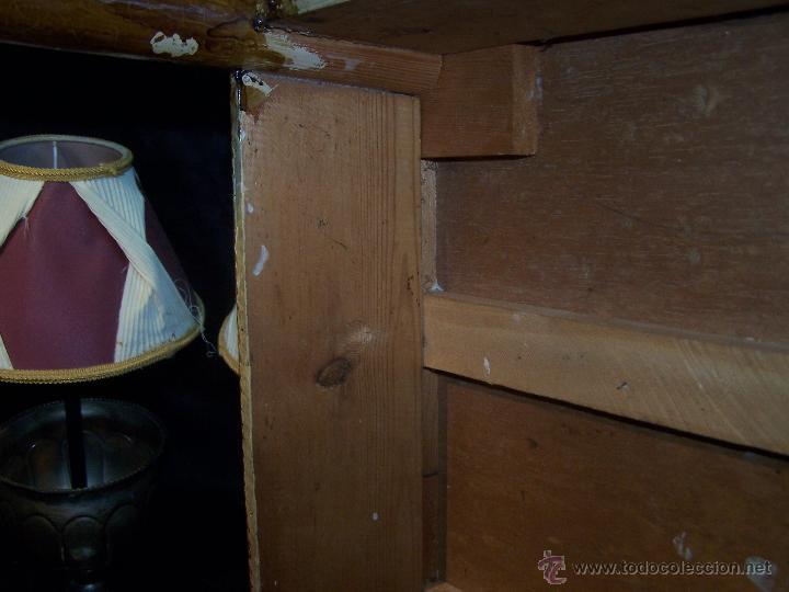 Antigüedades: Curiosa, sencilla y bonita mesa antigua para restaurar o dejar tal cual. - Foto 22 - 42807388