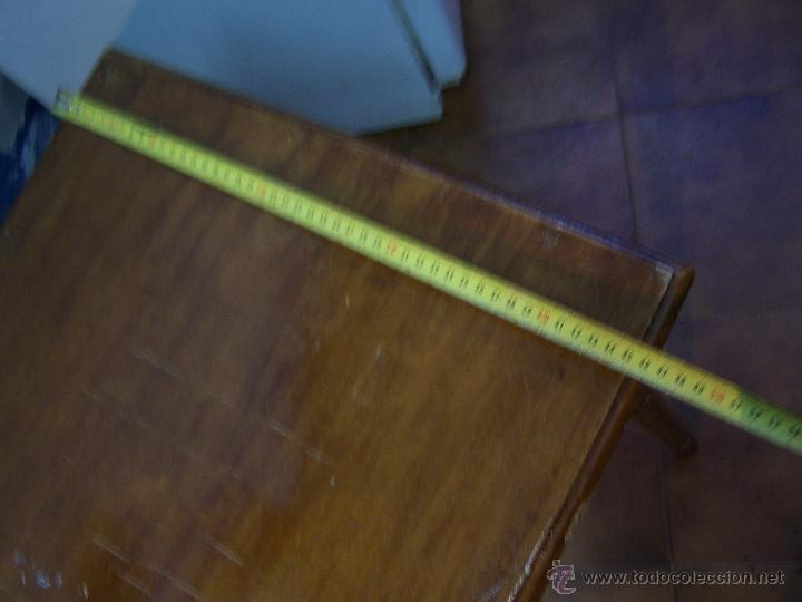 Antigüedades: Curiosa, sencilla y bonita mesa antigua para restaurar o dejar tal cual. - Foto 27 - 42807388
