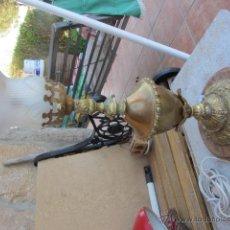 Antigüedades: ANTIGUA LAMPARA DE SOBREMESA, LAMPARA AUXILIAR DE MESA EN B. Lote 42816141