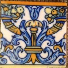Antigüedades: AZULEJO DE 15 X 15 CM. Lote 42818983
