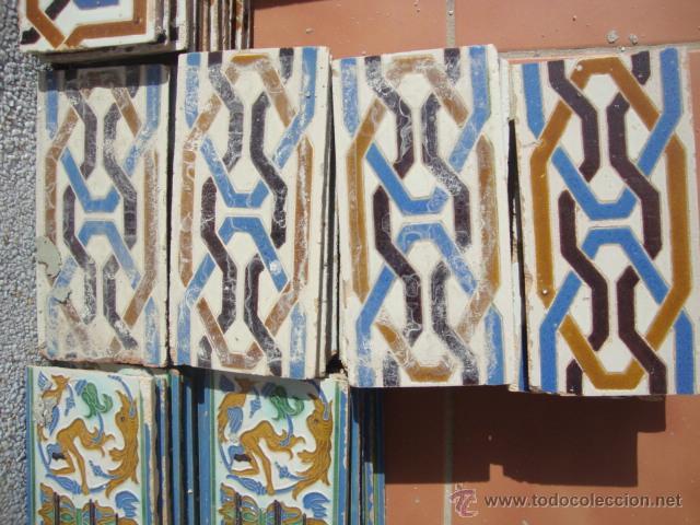 AZULEJOS SIGLO XIX RAMOS REJANO (Antigüedades - Porcelanas y Cerámicas - Azulejos)