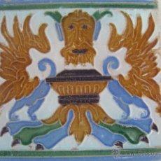 Antigüedades: AZULEJO SIGLO XIX. Lote 42820502