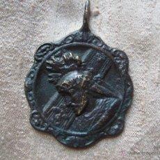 Antigüedades: BONITA MEDALLA REAL COFRADIA DE JESUS NAZARENO 1594 JAEN.. Lote 42824384