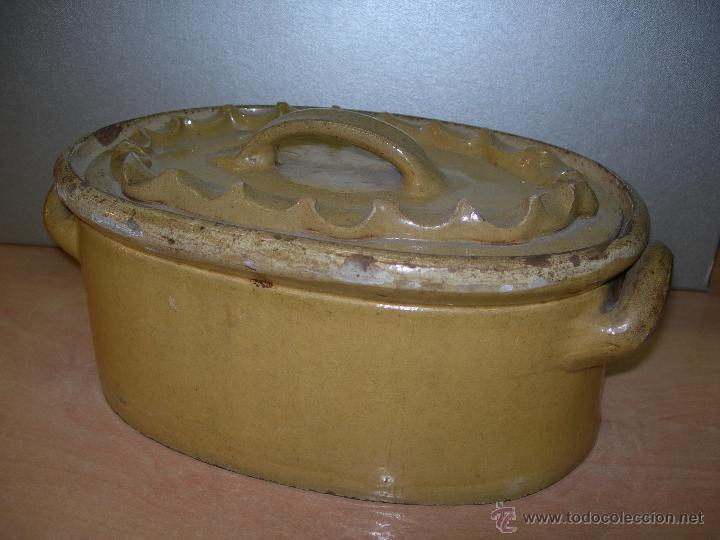 MOLDE CERAMICO. SOPERA....? (Antigüedades - Porcelana y Cerámica - Francesa - Limoges)