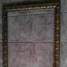 Antigüedades - Marco de madera dorado 142 x 72 - 42833115