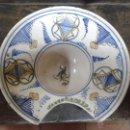 Antigüedades: BACIA DE BARBERO DE MANISES. Lote 42836058