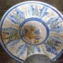 Antigüedades: BACÍA DE BARBERO CERÁMICA DE MANISES. Lote 42836093