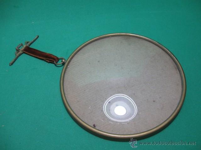 antiguo y precioso marco cristal concavo, laton - Comprar Marcos ...