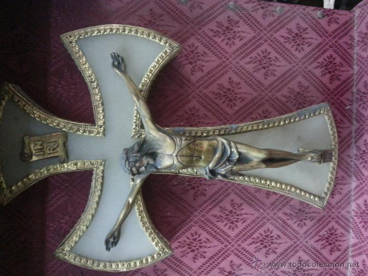 Antigüedades: cruz oratorio - Foto 2 - 42837952