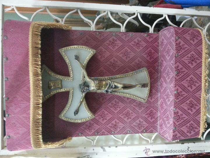 Antigüedades: cruz oratorio - Foto 3 - 42837952