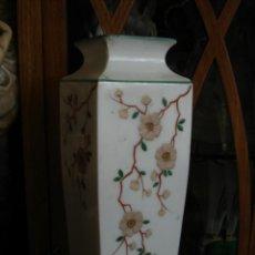 Antigüedades: JARRON CON FLORES. Lote 42870256
