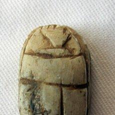 Antigüedades: ANTIGUO ESCARABEO EGIPCIO--- GRAND TOUR. Lote 42882964