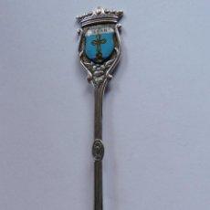 Antigüedades: CUCHARILLA PLATA DE LEY - LIÈBANA, CANTABRIA , CONTRASTE PLATA 925. Lote 42902130