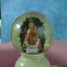 Antigüedades: LAMPARITA PLASTICO VIRGEN. Lote 42905616
