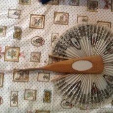 Antigüedades: ABANICO ANTIGUO DE PRINCIPIOS DEL S. XX. Lote 42907871