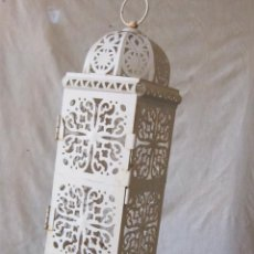 Antigüedades: FAROL EN METAL. Lote 42908420