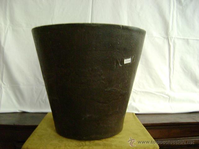 Antigüedades: GRAN MORTERO DE FARMACIA.HIERRO FUNDIDO ,SIGLO XVIII - Foto 2 - 78599767