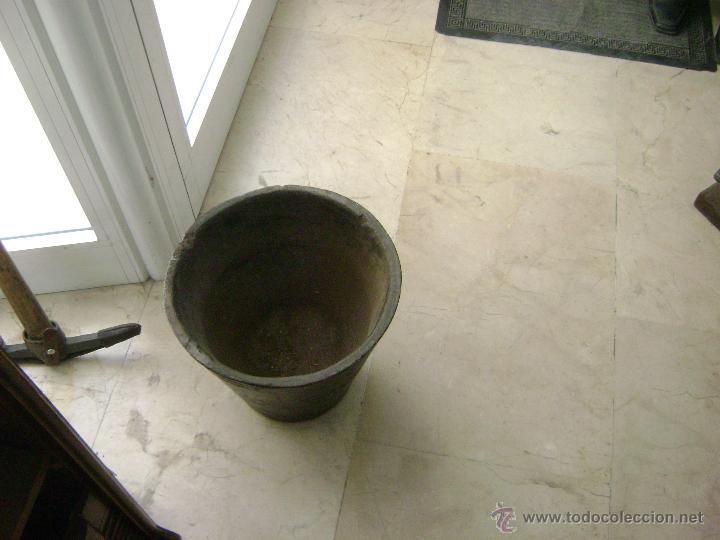 Antigüedades: GRAN MORTERO DE FARMACIA.HIERRO FUNDIDO ,SIGLO XVIII - Foto 5 - 78599767