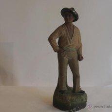 Antigüedades: FIGURA POLICROMADA. Lote 42929347