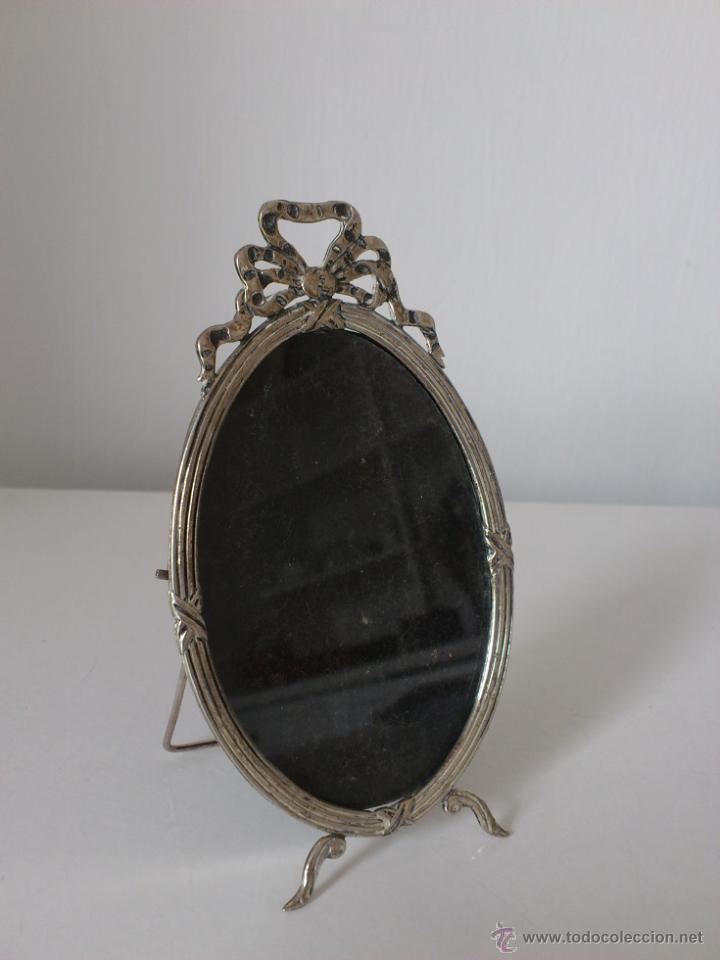MARCO DE PLATA DE LEY ESTILO LUIS XVI PUNZONADA ALTO 115MM (Antigüedades - Hogar y Decoración - Portafotos Antiguos)