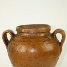 Antigüedades: MELERO O TINAJA EN TERRACOTA POPULAR, S XVIII-XIX. Lote 42958968