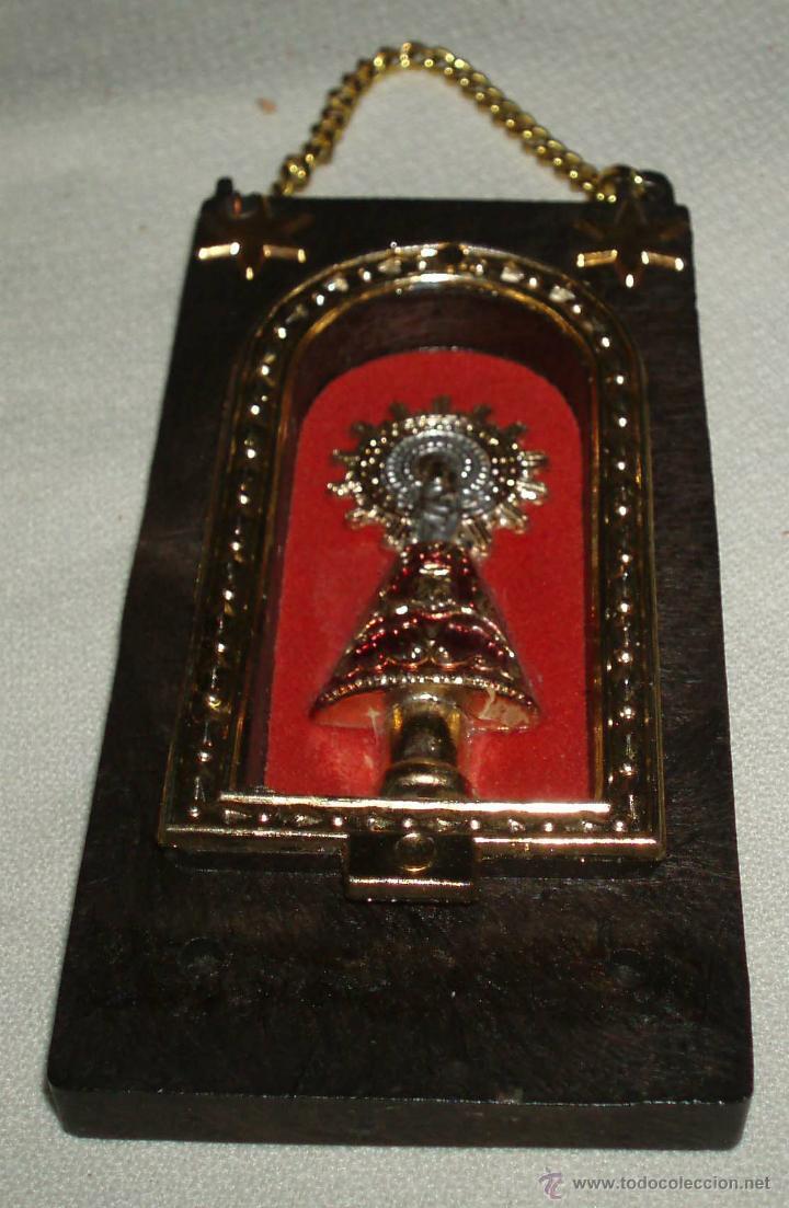 RECUERDO DE ZARAGOZA VIRGEN DEL PILAR (Antigüedades - Religiosas - Varios)