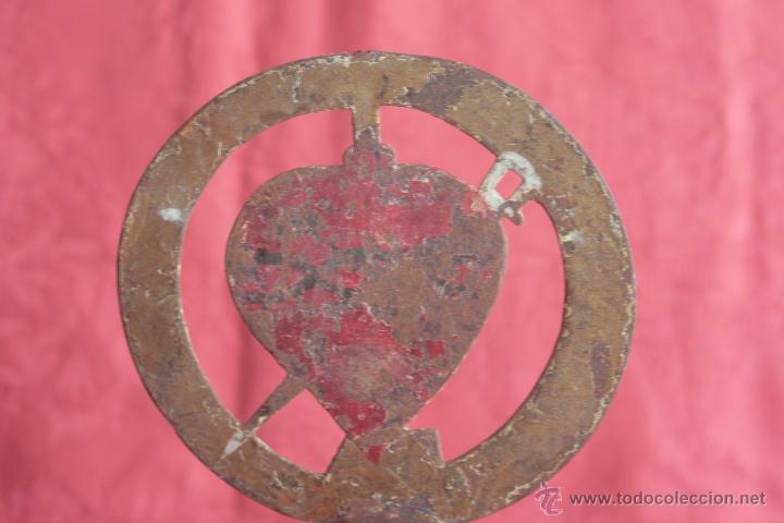Antigüedades: ANTIGUO DETENTE PROCESIONAL - Foto 2 - 42968816