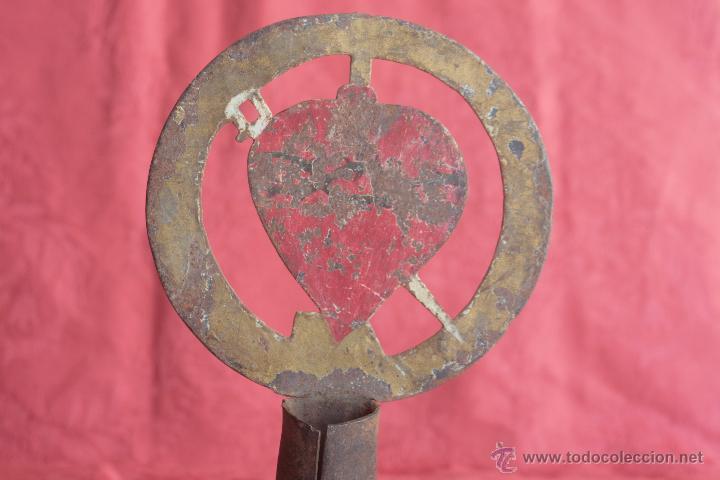 Antigüedades: ANTIGUO DETENTE PROCESIONAL - Foto 4 - 42968816