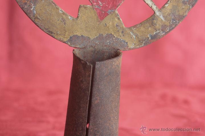 Antigüedades: ANTIGUO DETENTE PROCESIONAL - Foto 5 - 42968816
