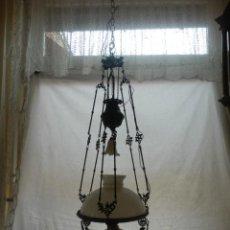 Antigüedades: LAMPARA QUINQUE DEL SIGLO XIX. Lote 42970082