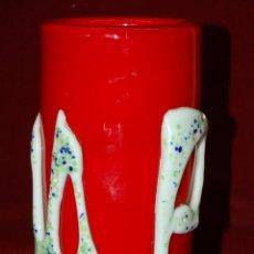 Antigüedades: BONITO JARRÓN EN VIDRIO DE MURANO. CIRCA 1960. Lote 42970760