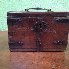 Antigüedades - caja o Arqueta siglo XVI - 42996490
