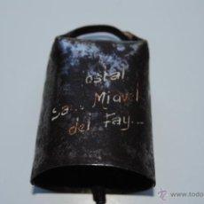 Antigüedades: CENCERRO HOSTAL SAN MIGUEL DEL FAY. Lote 43039776
