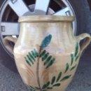 Antigüedades: ANTIGUA ORZA DE LUCENA PINTADA A MANO. Lote 43042239