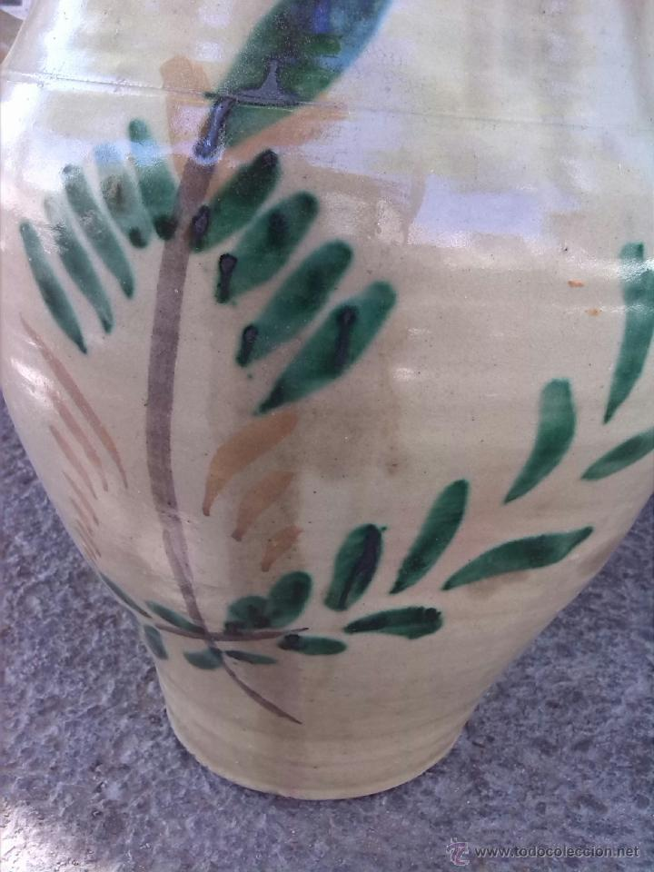 Antigüedades: antigua orza de lucena pintada a mano - Foto 3 - 43042239