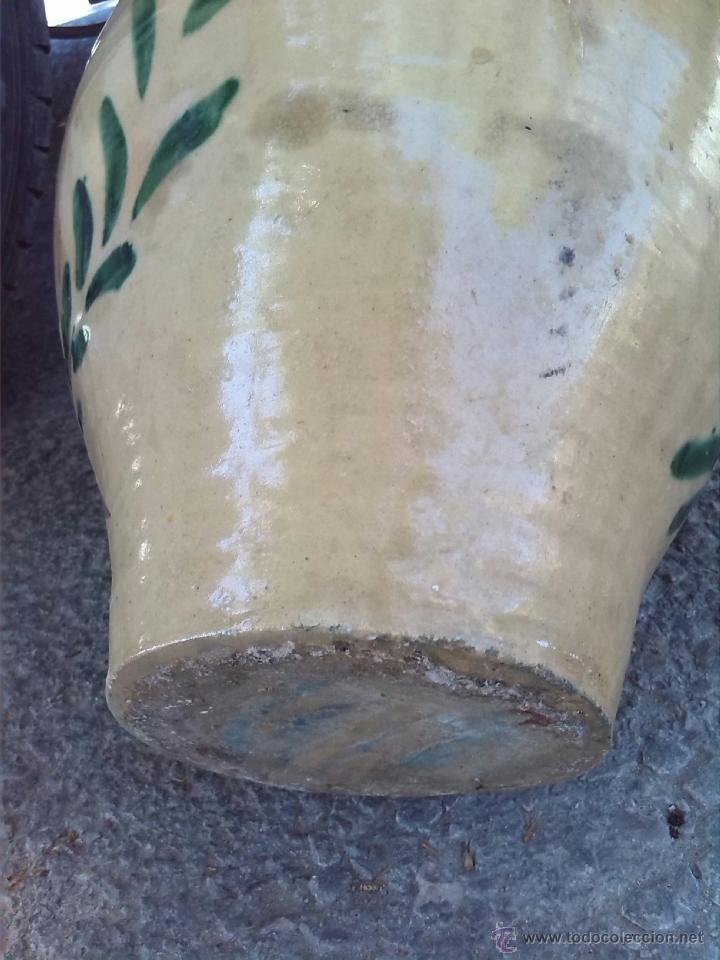 Antigüedades: antigua orza de lucena pintada a mano - Foto 5 - 43042239