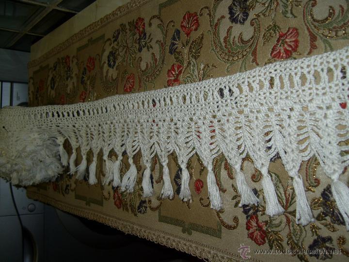 Antigua puntilla o encaje de ganchillo con flec vendido - Puntillas para cortinas ...