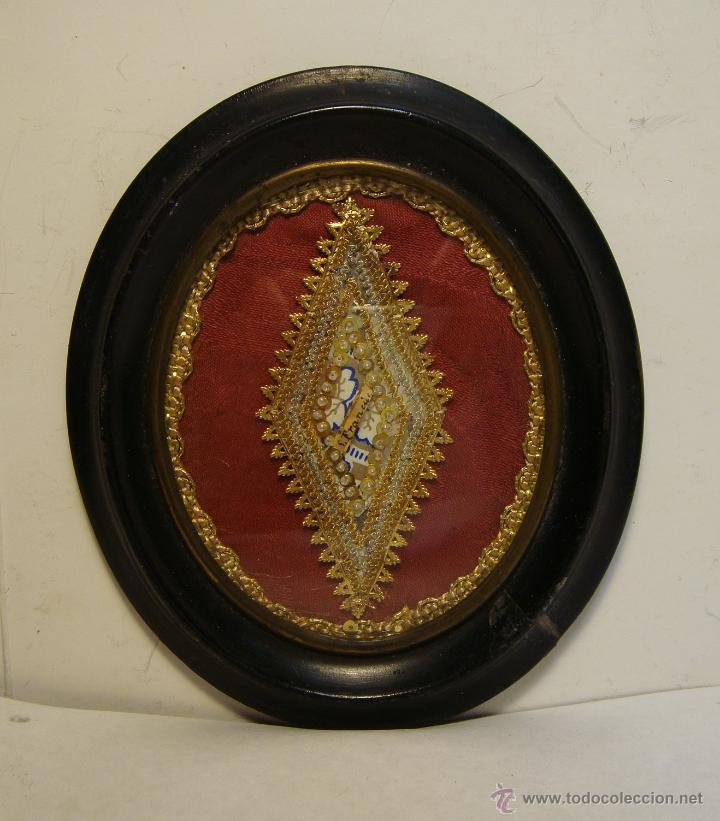 ANTIGUO RELICARIO. S.XIX. S. FRANCISCO (Antigüedades - Religiosas - Relicarios y Custodias)
